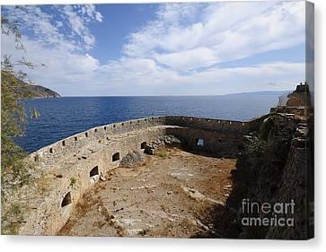Spinalonga Canvas Print by Nichola Denny