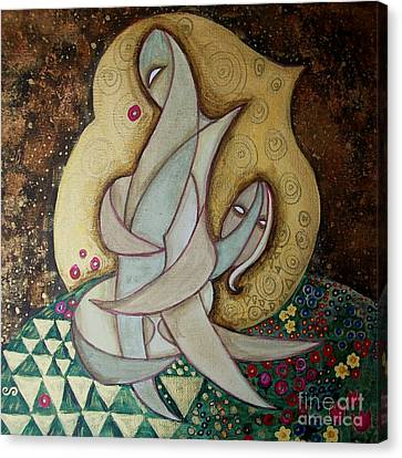 Spirit Lovers Canvas Print by Carola Joyce