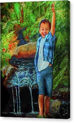 Canvas Print - Splash by Michael Durst