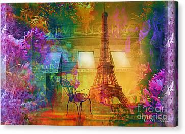 Spring In Paris Canvas Print