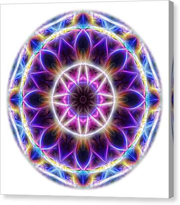 Spring Energy Mandala 2 Canvas Print