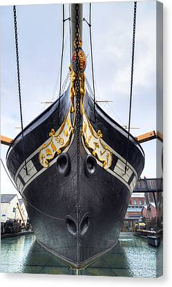 Ss Great Britain - Bristol Canvas Print by Joana Kruse