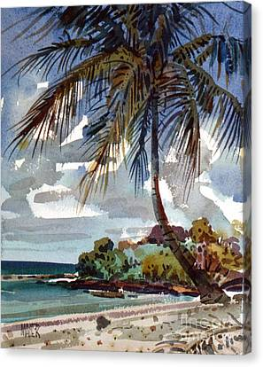 St. Croix Beach Canvas Print by Donald Maier
