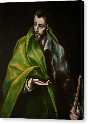 St. James The Greater Canvas Print by El Greco