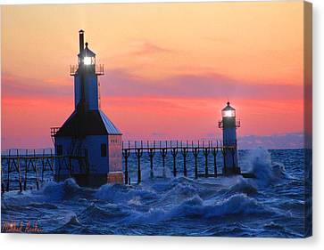 St. Joseph Pier Lighthouse Canvas Print