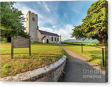 St Marcellas Church Canvas Print by Adrian Evans