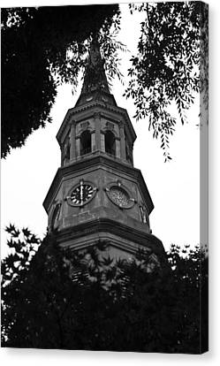 St. Philips Church Steeple Canvas Print by Dustin K Ryan