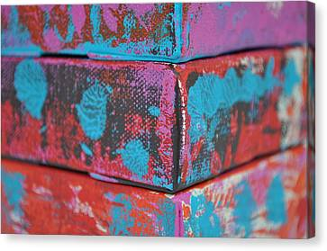 Stacked Canvas Print