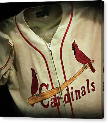 Stan Musial Canvas Print by Stephen Stookey
