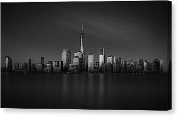 Exchange Place Canvas Print - Standing Strong by Eduard Moldoveanu