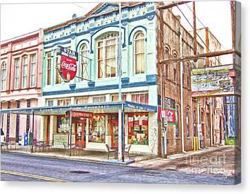 Canvas Print - Star Drug Store by Scott Pellegrin