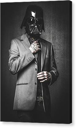 Star Wars Dressman Canvas Print by Marino Flovent
