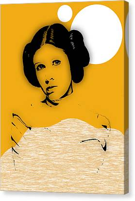 Star Wars Princess Leia Collection Canvas Print