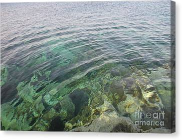 Start A Ripple Canvas Print