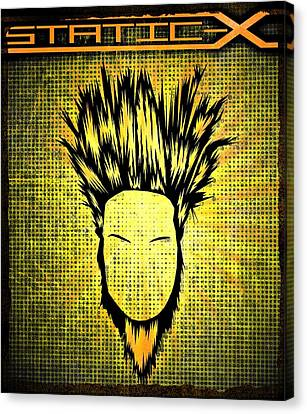Static-x Canvas Print by Kyle West