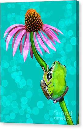 Canvas Print - Still Hanging On by Nick Gustafson