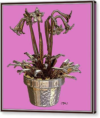 Still Life With Flowers 2 Canvas Print by Pemaro