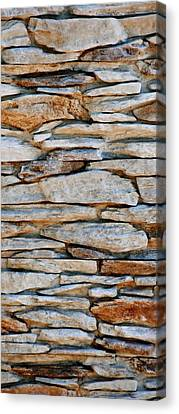 Stone Wall Canvas Print by Werner Lehmann