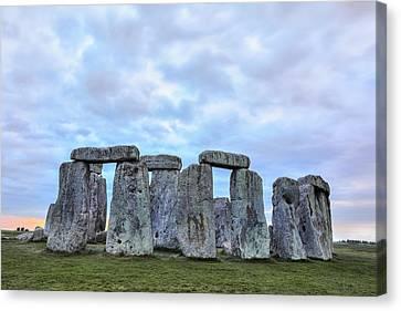 Amesbury Canvas Print - Stonehenge - England by Joana Kruse