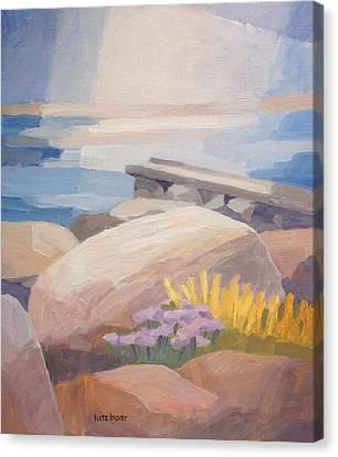 Stony Coast Canvas Print