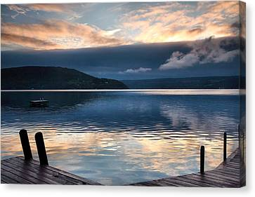 Storm Clearing Canvas Print by Steven Ainsworth