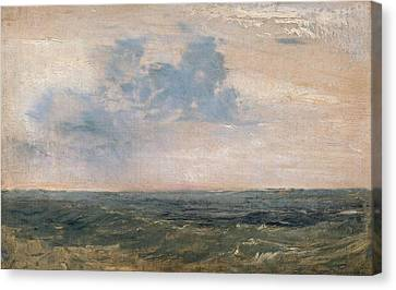 Study Of Sea And Sky Canvas Print