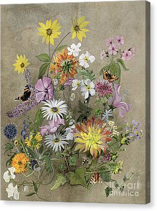 Summer Flowers Canvas Print by John Gubbins