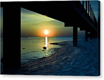 Canvas Print featuring the photograph Summer Glow by Jason Naudi Photography