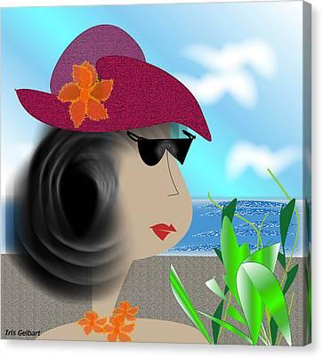 Summer,  I'm Ready Canvas Print