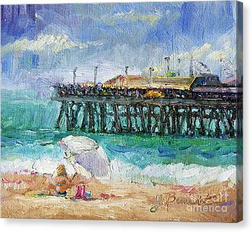 Summer Sun Canvas Print