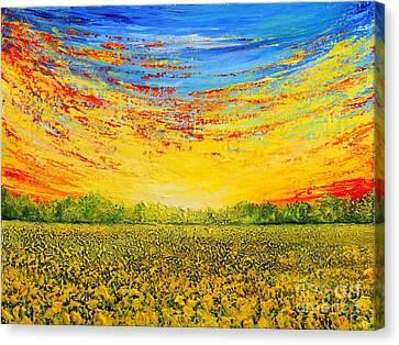 Summer Canvas Print by Teresa Wegrzyn
