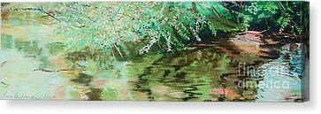 Summertime Canvas Print by Lucinda  Hansen