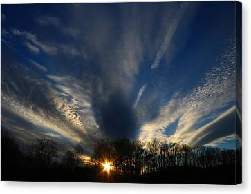 Sundown Skies Canvas Print