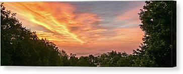 Sunrise July 22 2015 Canvas Print