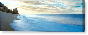 Sunrise Over Pacific Ocean, Lands End Canvas Print