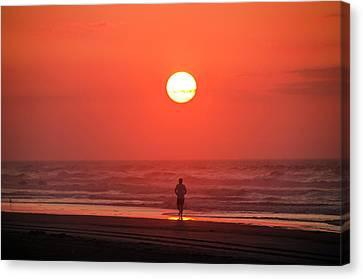 Sunrise Run Canvas Print