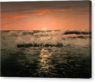 Sunrise Canvas Print by Unknown