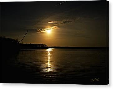 Sunset Canvas Print by Angel Cher