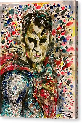 Superman Canvas Print by Tal Dvir
