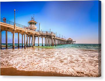 Surf City Pier Canvas Print