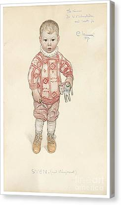 Sven Canvas Print