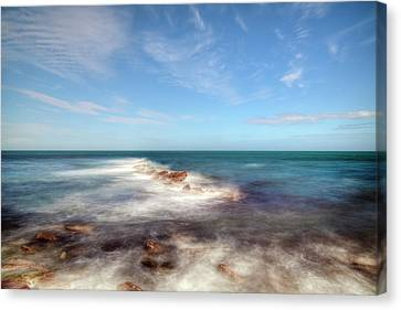 Ledge Canvas Print - Swanage - England by Joana Kruse