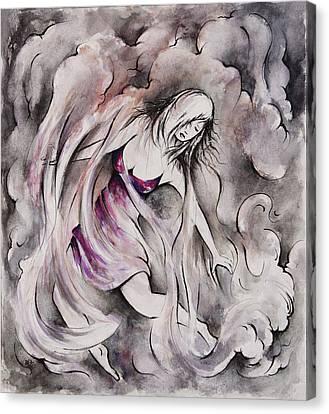 Swept Away Canvas Print by Rachel Christine Nowicki