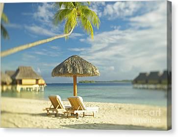 Tahiti, Bora Bora Canvas Print by Kyle Rothenborg - Printscapes