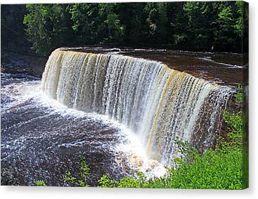 Tahquamenon Upper Falls IIi Canvas Print by Michiale Schneider