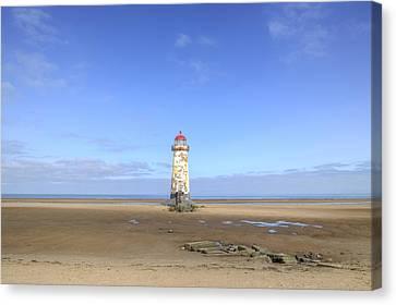 Talacre Beach - Wales Canvas Print by Joana Kruse