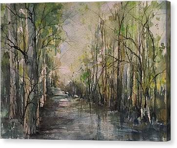 Bayou Liberty Canvas Print