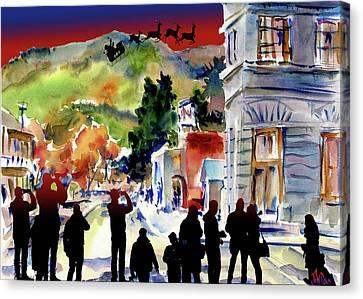 Temecula Christmas Canvas Print by John Dunn