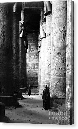 Temple Of Hathor, Early 20th Century Canvas Print
