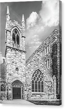Temple University Canvas Print by University Icons